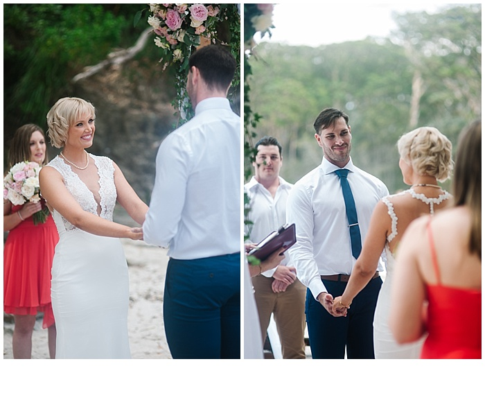 Jervis bay wedding
